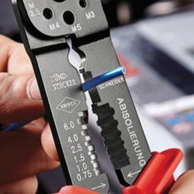 97 21 215 B SB Crimpzange von KNIPEX Qualitäts Werkzeuge