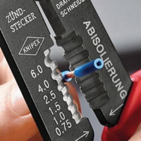 Crimpzange von hersteller KNIPEX 97 21 215 B SB online