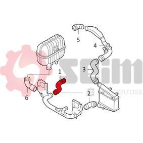 SEIM Ladeluftschlauch 8D0145828G für VW, AUDI, SKODA, SEAT bestellen