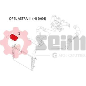 SEIM Ladeluftschlauch 55353824 für OPEL, VAUXHALL bestellen