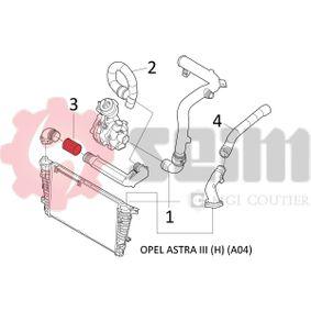 ZAFIRA B (A05) SEIM Schlauch Ladeluftkühler 981466