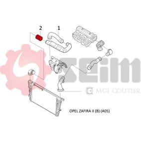 Ladeluftschlauch SEIM (981466) für OPEL ZAFIRA Preise