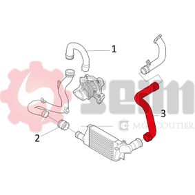 Turboschlauch 981471 SEIM