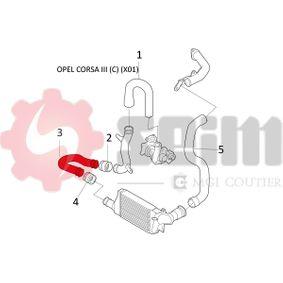 SEIM Ladeluftschlauch 5860742 für OPEL, VAUXHALL bestellen