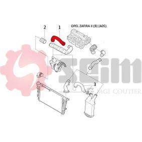 SEIM Ladeluftschlauch 835715 für OPEL, VAUXHALL bestellen