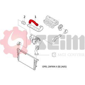 ZAFIRA B (A05) SEIM Schlauch Ladeluftkühler 981501