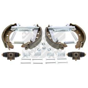 MAPCO Bremsensatz, Trommelbremse 867609527 für VW, AUDI, SKODA, SEAT, VAUXHALL bestellen