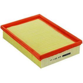 Vzduchovy filtr DENCKERMANN (A140511) pro PEUGEOT 307 ceny