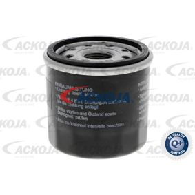 Filtro de aceite (A51-0500) fabricante ACKOJA para CHEVROLET Aveo / Kalos Hatchback (T250, T255) año de fabricación 04/2008, 84 CV Tienda online