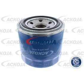 Oil filter (A52-0502) producer ACKOJA for MAZDA 6 Hatchback (GH) year of manufacture 01/2009, 125 HP Online Shop