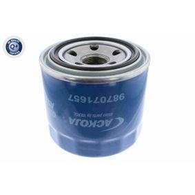 Filtro de aceite (A52-0502) fabricante ACKOJA para MITSUBISHI Pajero Sport Van I (K90) año de fabricación 12/1999, 170 CV Tienda online