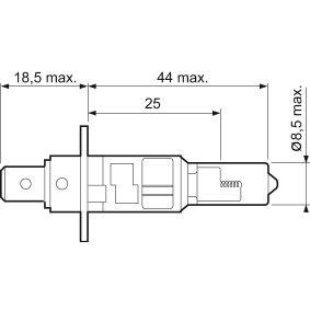 AUDI 90 2.2 E quattro 136 PS ab Baujahr 04.1987 - Fernscheinwerfer Glühlampe (032501) VALEO Shop