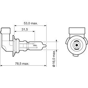 Крушка с нагреваема жичка, фар за дълги светлини 032527 онлайн магазин