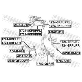 FEBEST Lagerung, Lenker 8K0407509N für VW, AUDI bestellen
