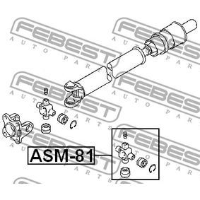 Giunto albero longitudinale ASM-81 FEBEST