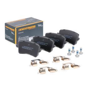 8K0698451D für VW, AUDI, SKODA, SEAT, Bremsbelagsatz, Scheibenbremse DENCKERMANN (B110995) Online-Shop