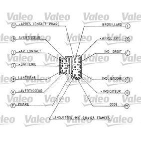 CITROËN XANTIA 2.0 i 16V 150 CV año de fabricación 06.1994 - Interruptor/regulador (251162) VALEO Tienda online