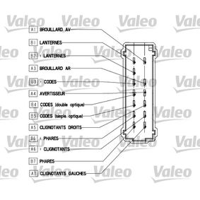 VALEO Mando intermitentes 251562