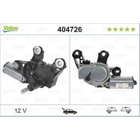 Wischermotor VALEO Art.No - 404726 OEM: 6Q6955711B für VW, AUDI, SKODA, SEAT kaufen