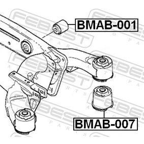 Hinterachslager BMAB-007 FEBEST