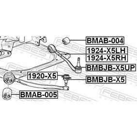 Reparatursatz, Trag- / Führungsgelenk BMBJB-X5 FEBEST