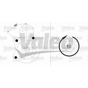 Starter VALEO Art.No - 433340 OEM: 1644028 für FORD kaufen