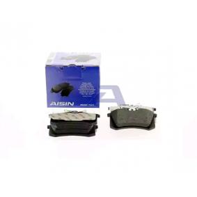 AISIN Bremsbelagsatz, Scheibenbremse 1H0698451H für VW, AUDI, PEUGEOT, SKODA, SEAT bestellen