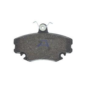 AISIN Bremsbelagsatz, Scheibenbremse (BPRE-1004) niedriger Preis