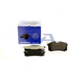 AISIN Bremsbelagsatz, Scheibenbremse 6025371650 für VW, AUDI, FORD, RENAULT, SKODA bestellen