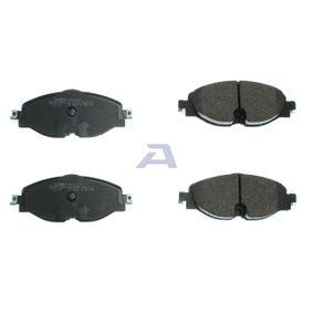 AISIN Kit de plaquettes de frein, frein à disque 5Q0698151D pour VOLKSWAGEN, AUDI, SEAT, SKODA acheter