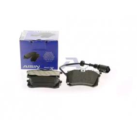 AISIN Bremsbelagsatz, Scheibenbremse 6Q0698451 für VW, AUDI, SKODA, SEAT, HONDA bestellen