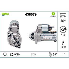 VALEO Starter 438079