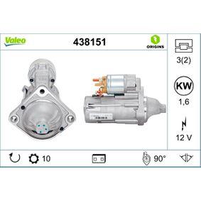 VALEO Starter 438151