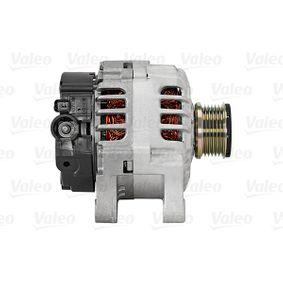 VALEO 439553 Generator OEM - 9649611280 ALFA ROMEO, CITROËN, FIAT, LANCIA, PEUGEOT, RENAULT, PIAGGIO, FERRARI, FSO, CITROËN/PEUGEOT, INA, ERA, LUCAS ENGINE DRIVE, GFQ - GF Quality günstig