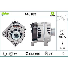 VALEO Lichtmaschine 440183