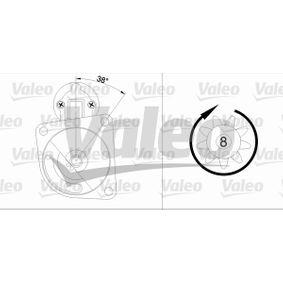 VALEO Starter 455606