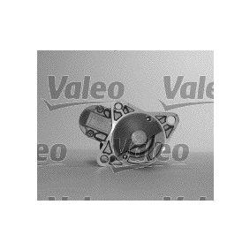 Starter Motor 455606 VALEO