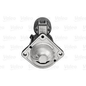 Starter Motor 458166 VALEO