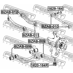 FEBEST Lagerung, Lenker A1643501306 für MERCEDES-BENZ bestellen