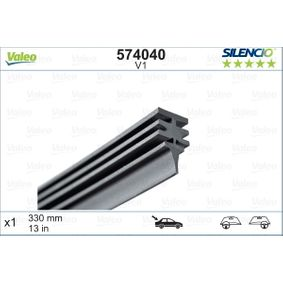 Wiper blade rubber (574040) producer VALEO for FIAT PANDA (169) year of manufacture 09/2003, 60 HP Online Shop