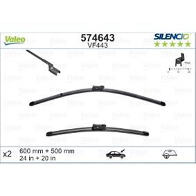 Verschleißanzeige Bremsbeläge (574643) hertseller VALEO für RENAULT TWINGO II (CN0_) ab Baujahr 03.2007, 100 PS Online-Shop