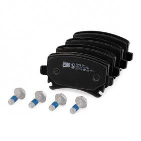 VALEO Bremsbelagsatz, Scheibenbremse 3C0698451F für VW, AUDI, SKODA, SEAT, PORSCHE bestellen