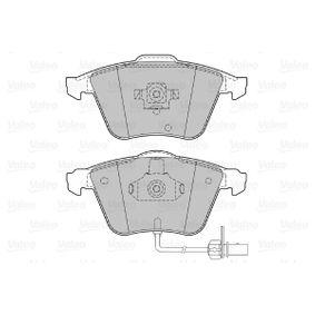 VALEO Bremsbelagsatz, Scheibenbremse 8E0698151L für VW, AUDI, SKODA, SEAT, PORSCHE bestellen