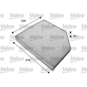 VALEO 715579 Filter, Innenraumluft OEM - 8K0819439A AUDI, OM, PORSCHE, SEAT, SKODA, VW, VAG, FIAT / LANCIA, JOHNS, AUDI (FAW), VW (FAW), CUPRA günstig