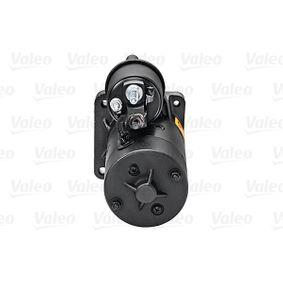 PUNTO (188) VALEO Starter motor 726020