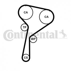 CONTITECH CT1184K1 Juego de correas dentadas OEM - 1680600Q2N NISSAN, AC, INFINITI a buen precio