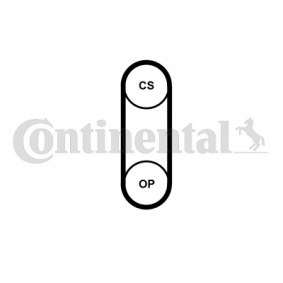 Rozvodovy remen CT1204 CONTITECH