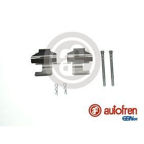 PANDA (169) AUTOFREN SEINSA Accessory kit, disc brake pads D42352A