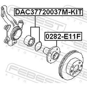 Maza de rueda DAC37720037M-KIT FEBEST