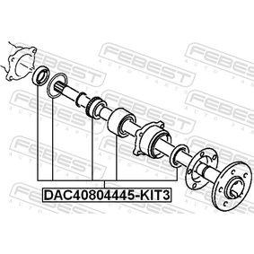 Kit cuscinetto ruota DAC40804445-KIT3 FEBEST